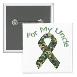 Pour mon oncle Military Ribbon Badge Avec Épingle