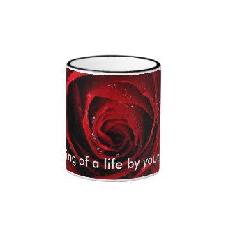 Pour quelqu'un spécial mug ringer