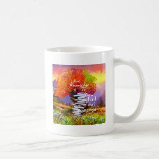 Pour savoir combien vous ignorez est la première mug