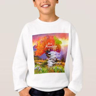 Pour savoir combien vous ignorez est la première sweatshirt