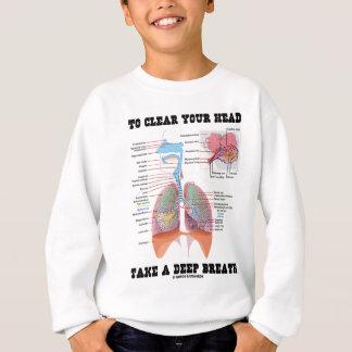 Pour se dégager vos principaux prennent une sweatshirt