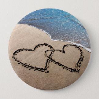 Pour toujours coeurs de l'amour deux dans le Pin Pin's