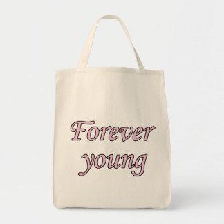 Pour toujours jeunes sac fourre-tout