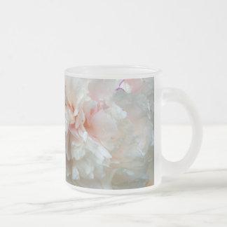 Pour toujours pivoine mug en verre givré