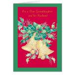 Pour une chère petite-fille et son mari carte de vœux