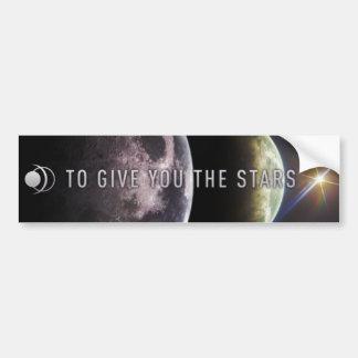 Pour vous donner les étoiles adhésif pour pare-cho adhésifs pour voiture