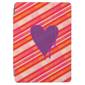 Pourpre de fonte de coeur protection iPad air