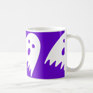 pourpre de tasse de fantôme de Halloween