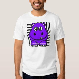 Pourpre d'hippopotame de Hypno T-shirts