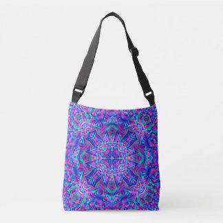 Pourpre et bleu tout plus de - imprimez le sac