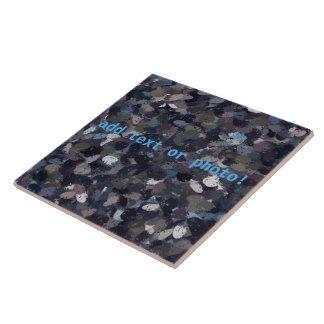 Pourpre et éclaboussure 9163 de peinture de grand carreau carré