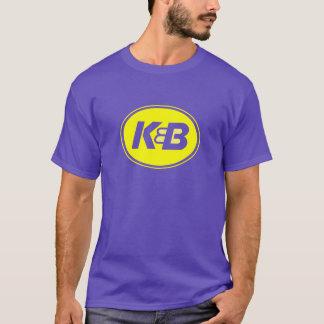 Pourpre et pièce en t de l'or K&B T-shirt