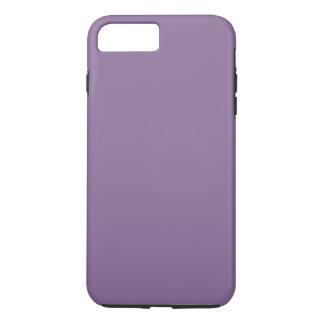 Pourpre personnalisable moderne de lavande, coque iPhone 7 plus
