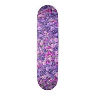 Pourpre rose gothique vintage de lavande plateaux de skate