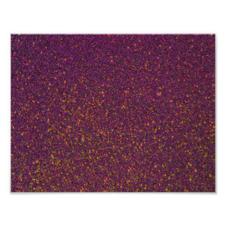 Pourpre Strass de Bling Bling Affiches