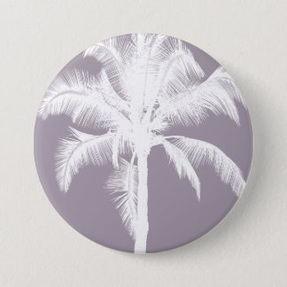 Pourpre vintage de rétro palmier tropical hawaïen badges