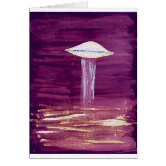 Pourpre VISION-D8 de peinture Carte De Vœux