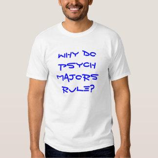 Pourquoi font-ils commandants Rule de Psych ? T-shirt