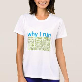 Pourquoi je cours 2 t-shirt