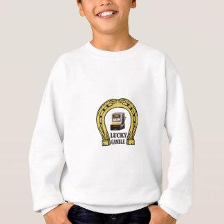 pourquoi jeu chanceux sweatshirt