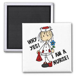 Pourquoi oui je suis une infirmière aimants