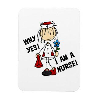 Pourquoi oui je suis une infirmière magnet