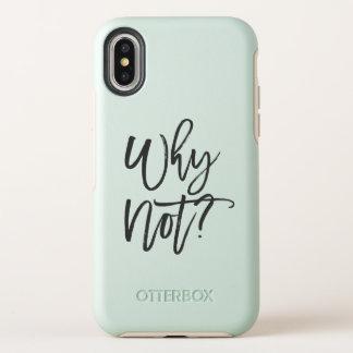 Pourquoi pas ? Cas inspiré d'Iphone X de