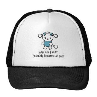 Pourquoi suis je chapeau triste casquettes