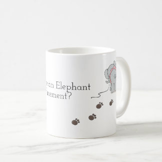 Pourquoi y a il un éléphant dans ma tasse de