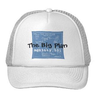 Poursuivez la bande dessinée d'agilité - le grand  casquettes