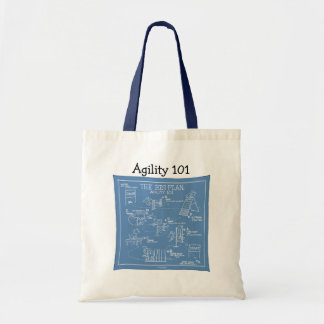Poursuivez la bande dessinée d'agilité - le grand sac de toile