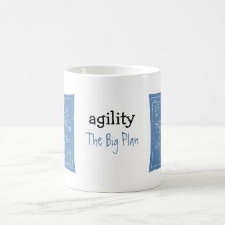 Poursuivez la bande dessinée d'agilité - le grand  tasse