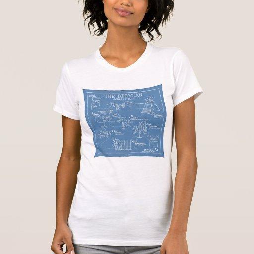 Poursuivez la bande dessinée d'agilité - le grand t-shirt