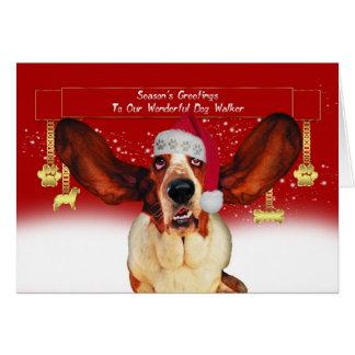 poursuivez la carte de vacances de Noël de