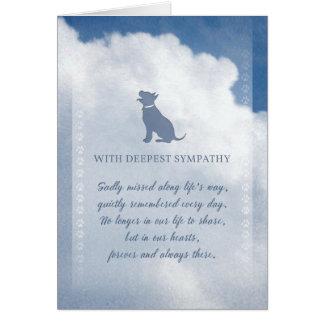 Poursuivez les nuages de sympathie à nos coeurs cartes