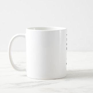 poussée verticale de modèle mug