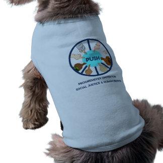POUSSEZ la chemise de chien T-shirt Pour Chien