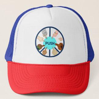 POUSSEZ le casquette de camionneur
