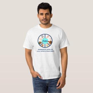 POUSSEZ le T-shirt des hommes