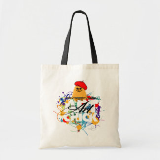 Poussin d'art sacs de toile