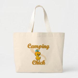 Poussin de camping sacs en toile