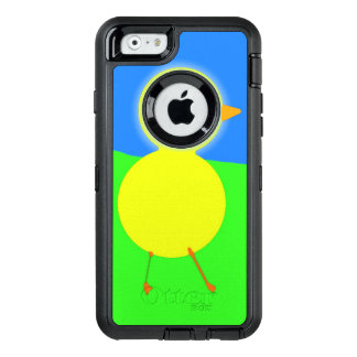 Poussin huileux coque OtterBox iPhone 6/6s