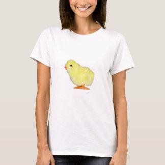 Poussin solo sur transparent t-shirt