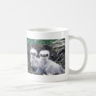 Poussins d'Eagle chauve Mug