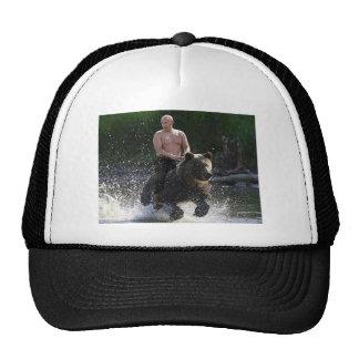 Poutine monte un ours ! casquettes