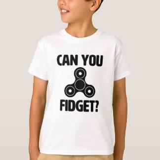 Pouvez-vous remuer ? Chemise drôle de fileur de T-shirt