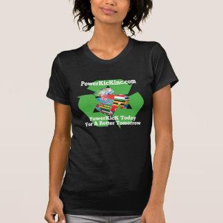 PowerKicK réutilisent le T-shirt