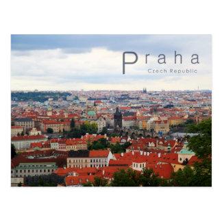 Prague 001, photo tchèque carte postale