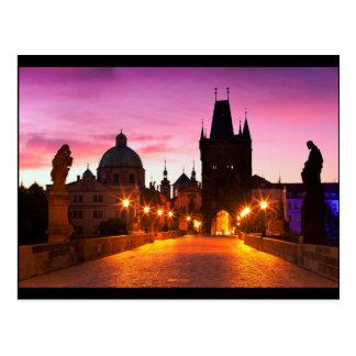 Prague 003A Carte Postale