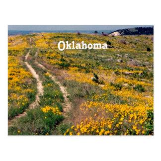 Prairie de l'Oklahoma Cartes Postales
